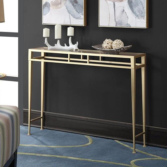 薄型コンパクトコンソールテーブル/飾り台