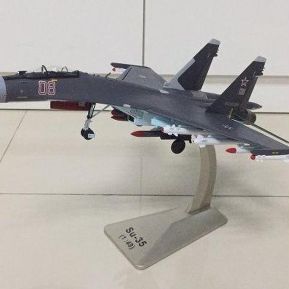 【新品】1/48 Su-35 08 スホーイ08 モデルエアクラフト 航空機
