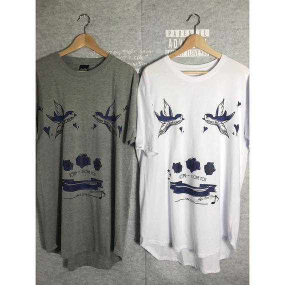 Round Hem T-Shirts - SPALLOW