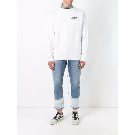 OFF-WHITE / Bleach Hem Jeans ブリーチ・ヘム・ジーンズ