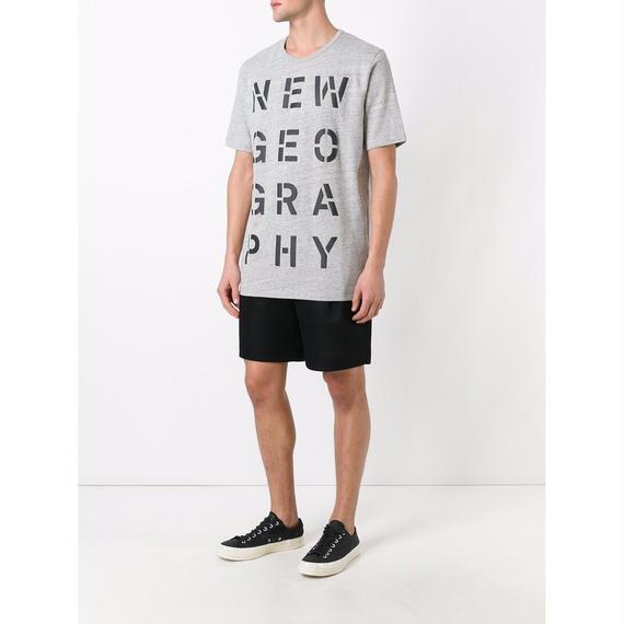 ÉTUDES (エチュード) Tシャツ / New Geo Tシャツ (GRY) - Paris & N.Y  のコピー