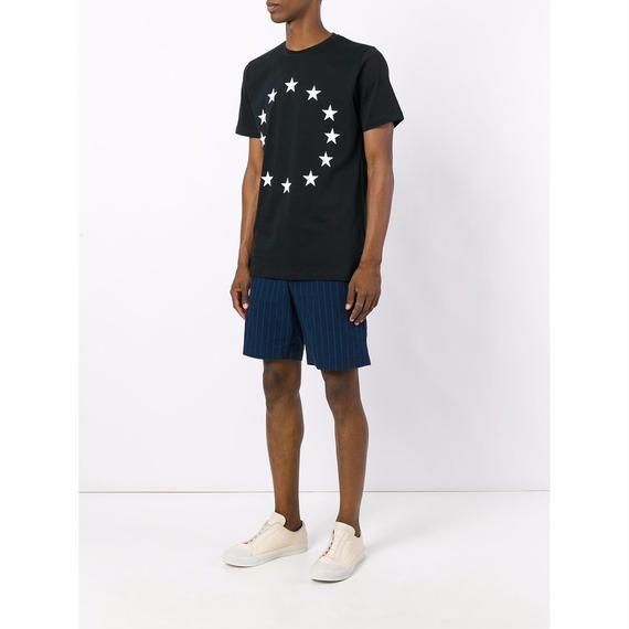 ÉTUDES (エチュード) Tシャツ / Page Europa Union Tシャツ (BLK&WHT) - Paris & N.Y