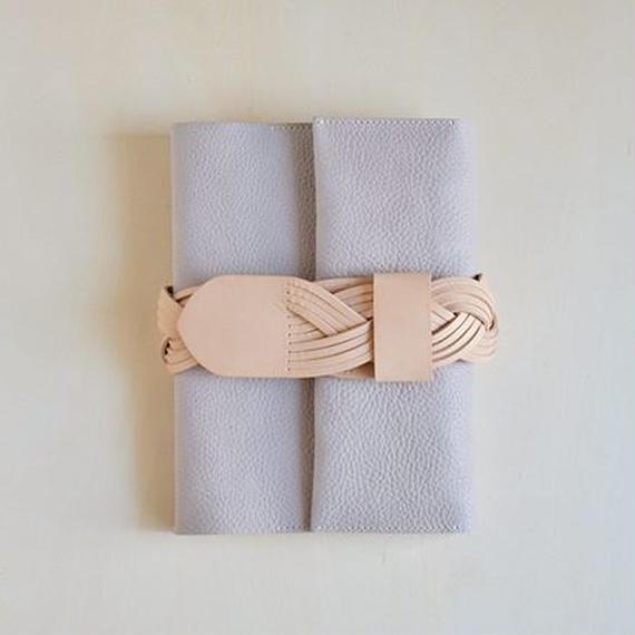えらべるベルトの手帖カバー / argilla (gray)