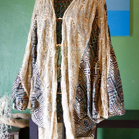 Native  Ethnic Cardigan  /eis/