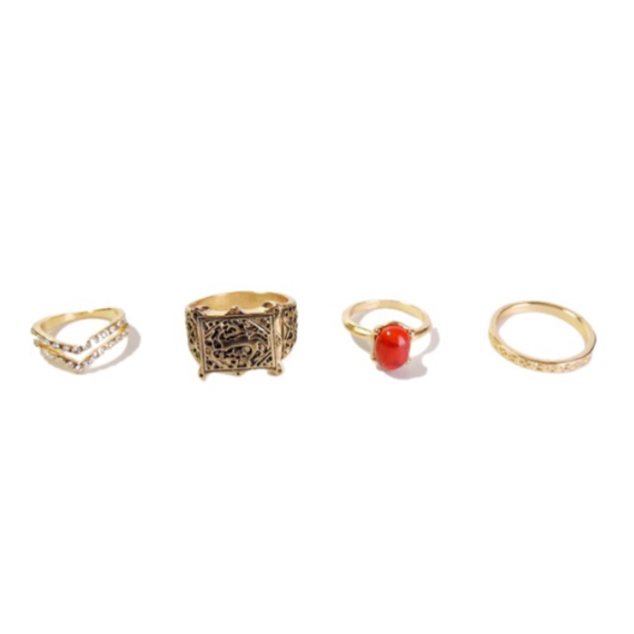 Woman Ring set