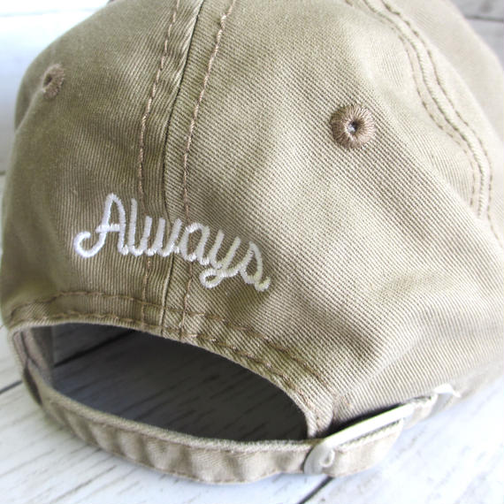 Always baseball cap