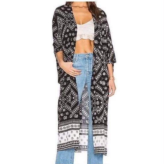 Ethnic Long Cardigan / AUGUSTE