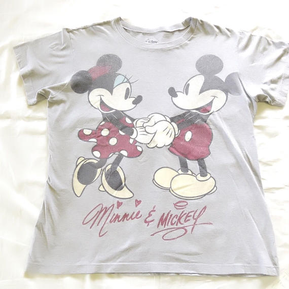 Vintage Mickey&Minnie T-shirts