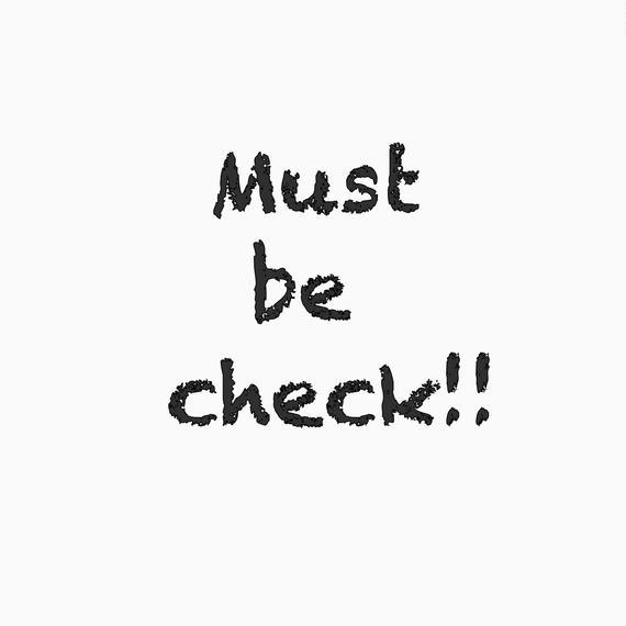 Must be check!! ご購入前に必ずお読み下さい。