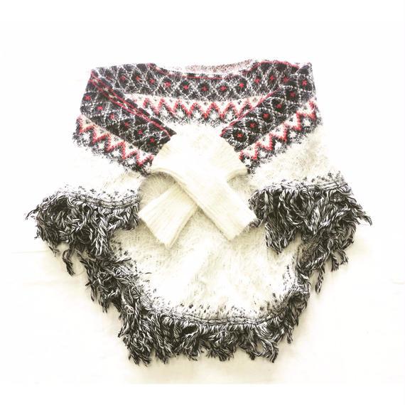 Scandinavian knit sweater