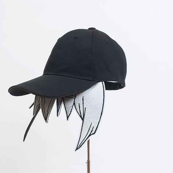 髪型帽(ナイーブなシルバー)