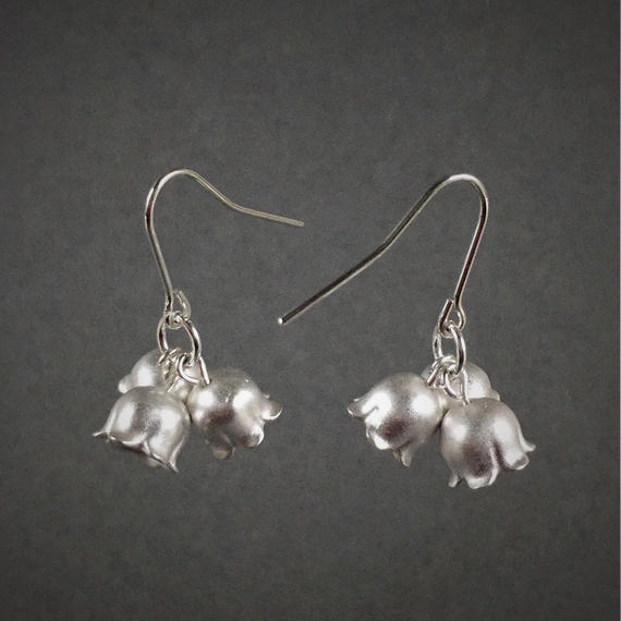 Lily of the valley's earring(SV) 鈴蘭ピアス(SV)