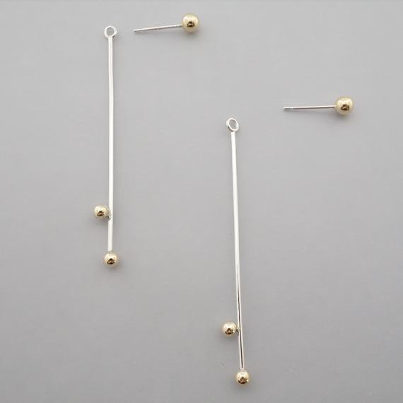 sprinkle pierce(K18series 片耳)
