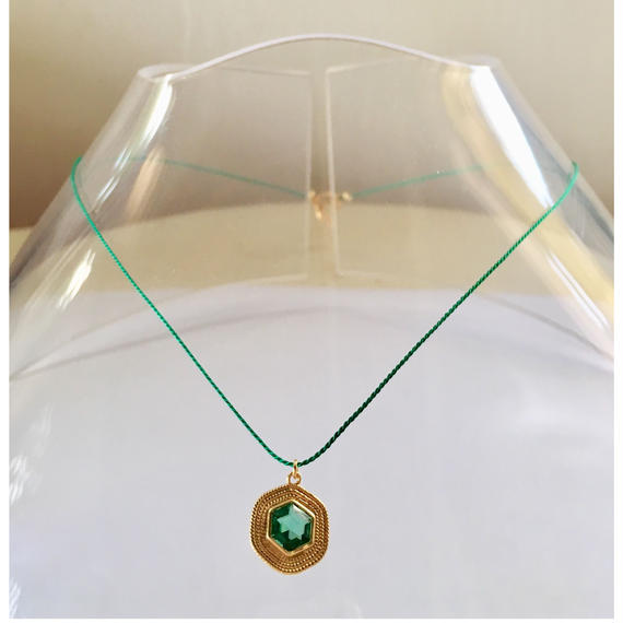 1stone silk code/ Green quartz/ Green