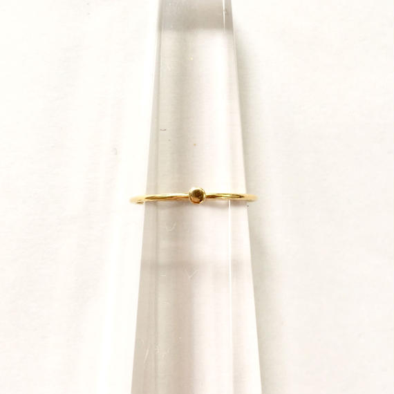 Tiny juicy ring / just gold