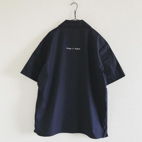 BRIDGE & SEPTUM オープンカラーシャツ