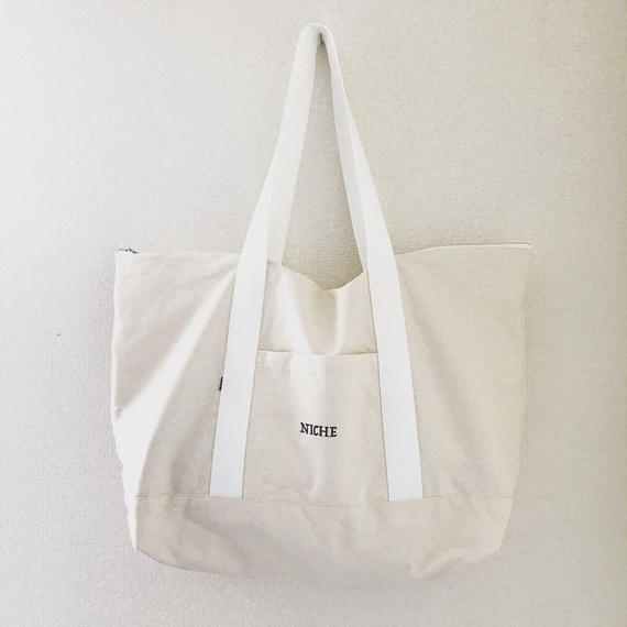 NICHE BAG60  生成り×ホワイト