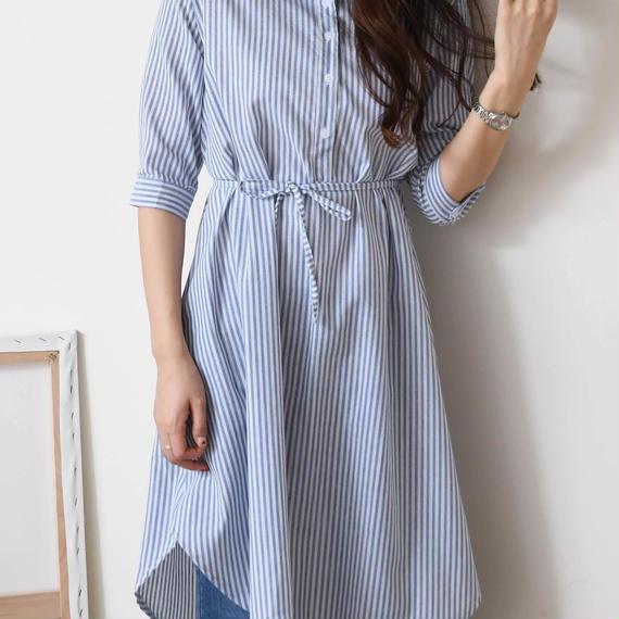 stripe cut ops(sora/gray)