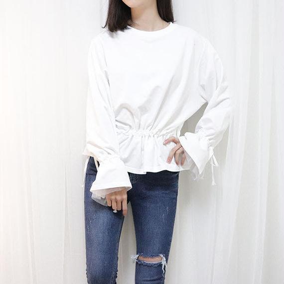 cuff lace mtm(white/black)