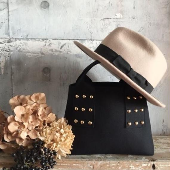 canvas tote bag mini (black)