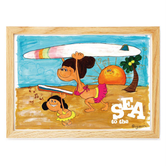033 Go  to  sea   A4size