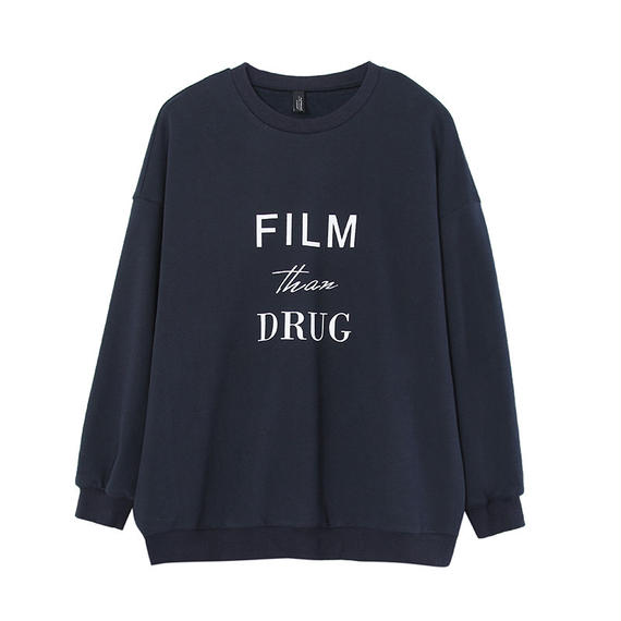 3color print sweatshirt/3カラー プリント スウェット