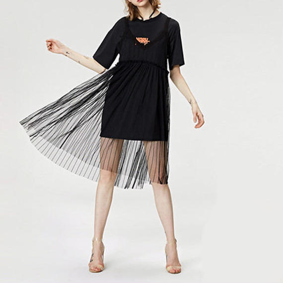 t-shirt see-through dress/Tシャツ シースルー ドレス