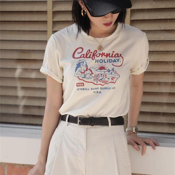 vintage print t-shirt/ヴィンテージ プリント Tシャツ