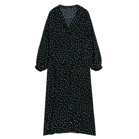 polka dot dress/ドット柄 ワンピース ドレス