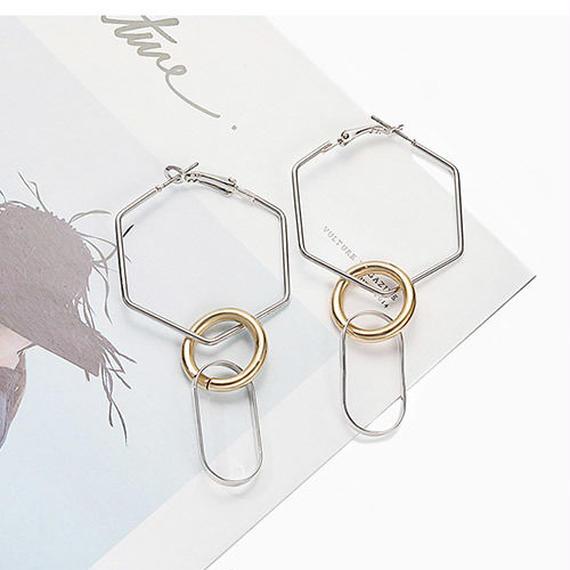 hoop earrings/フープ ピアス