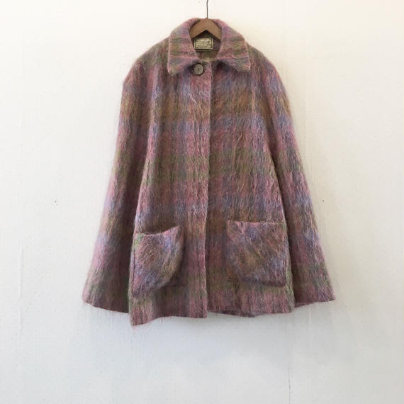 used mohair poncho