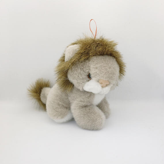used Lion doll
