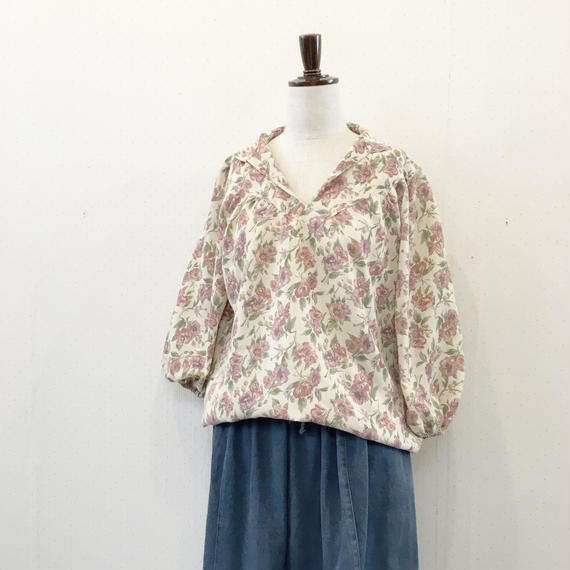 used flower blouse