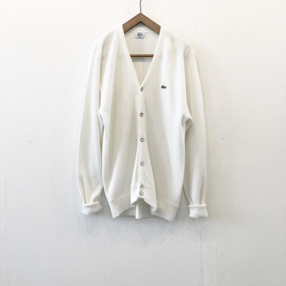 used lacoste cardigan