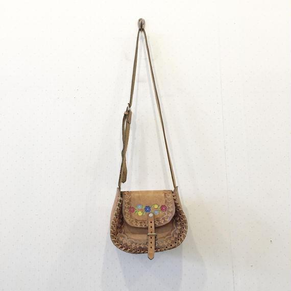 used 型押し bag