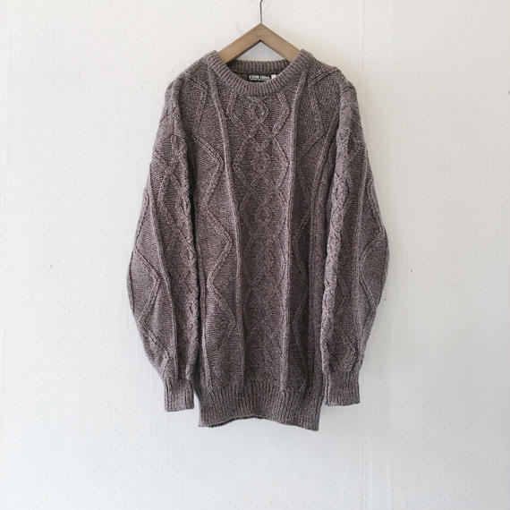 used cable knit
