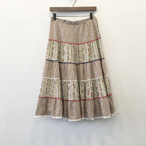 used patchwork skirt