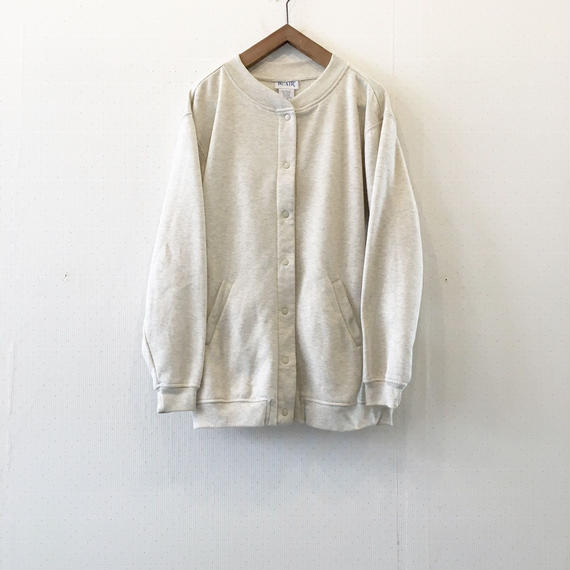 used sweat cardigan