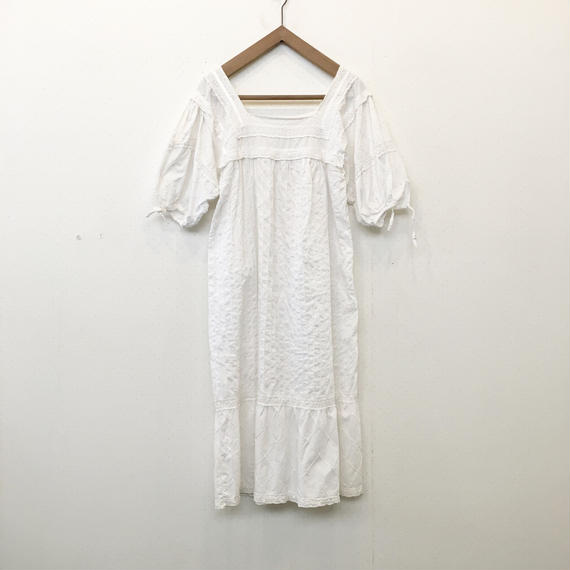 used white dress