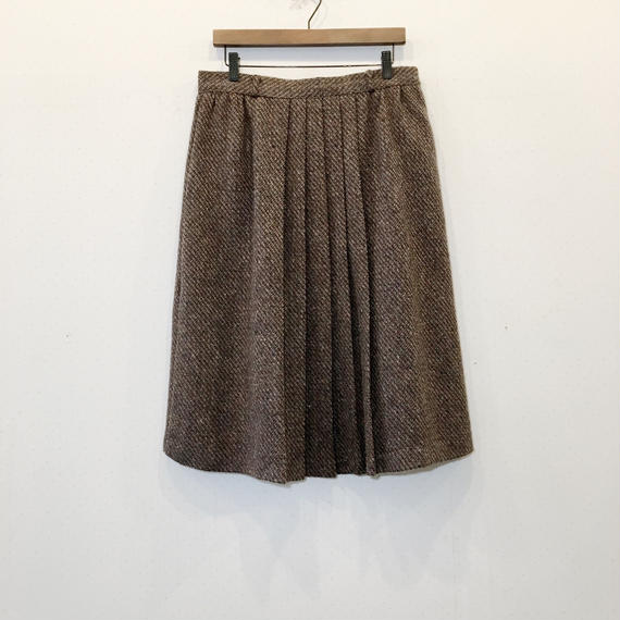 used wool skirt