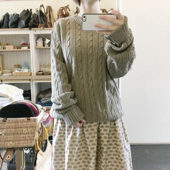 used color knit