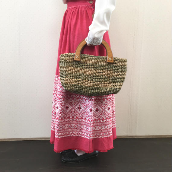 used kago bag