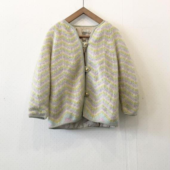 70s used cardigan