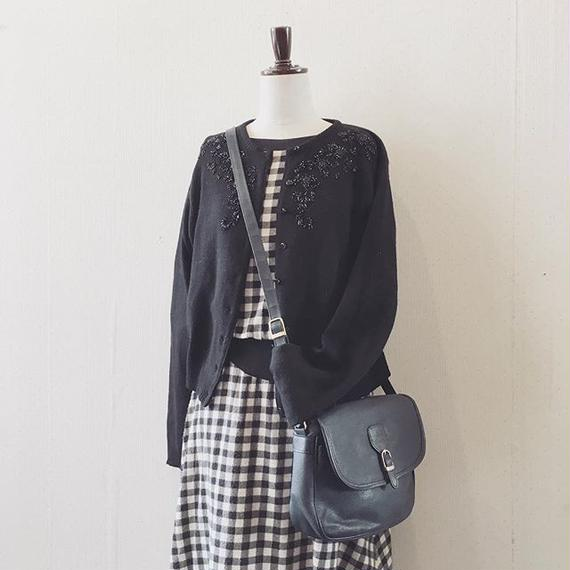 used 50s check dress