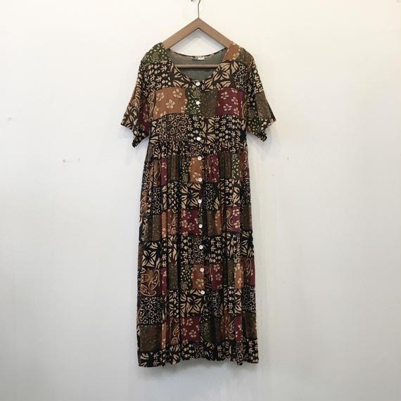 used india cotton dress