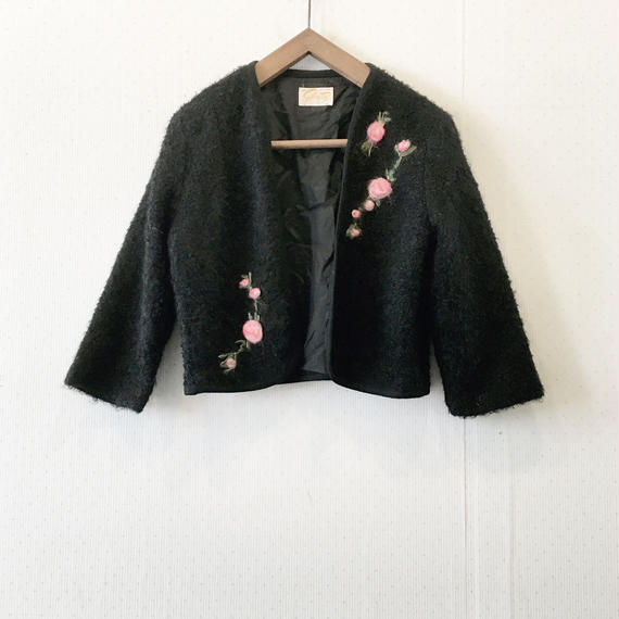 used short cardigan