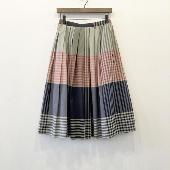 used Check skirt
