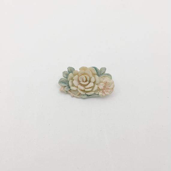 used pastel brooch