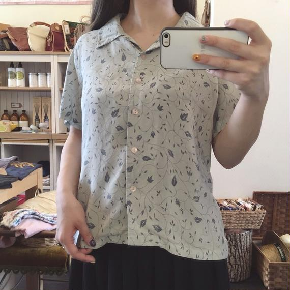 used silk blouse