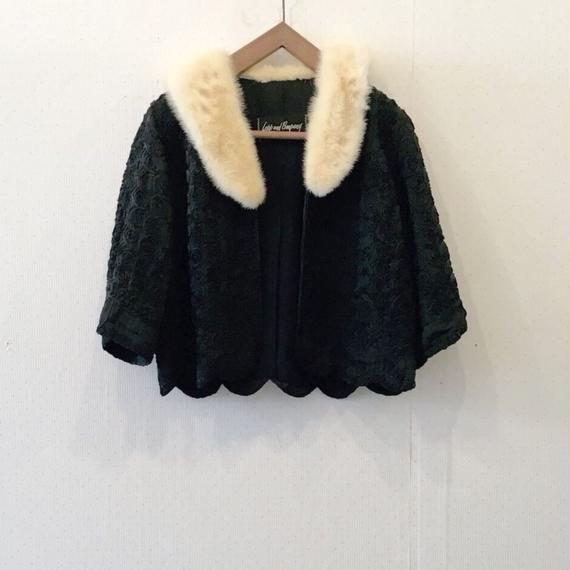 used fur jacket